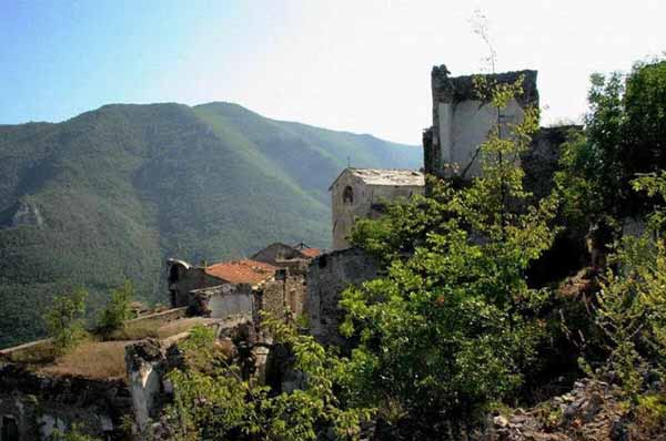 Balestrino Italy Abandoned
