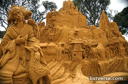 Amazing Pictures! Sandcastle-3