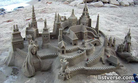 Amazing Pictures! Sandcastle1